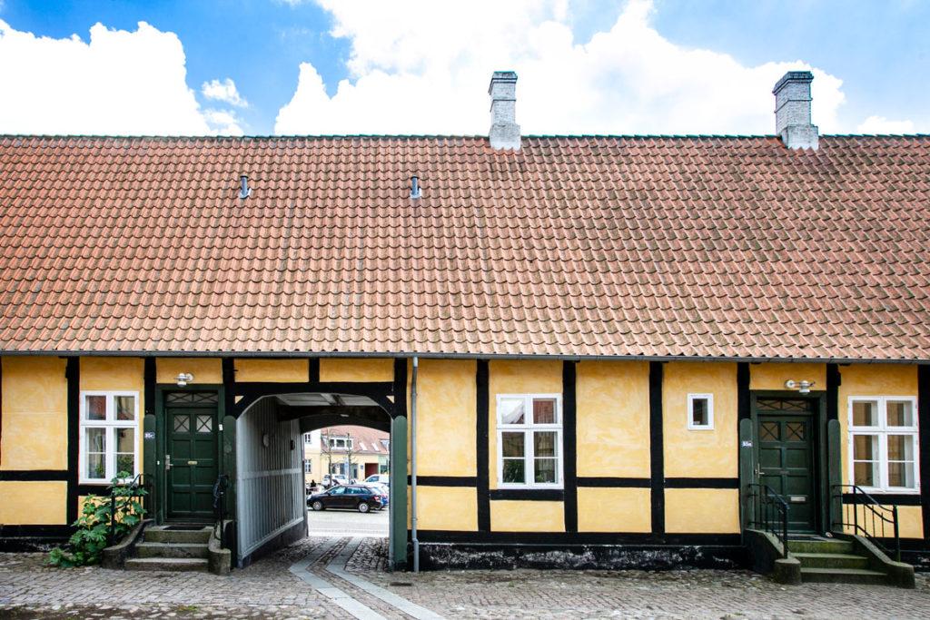 Kammerradgeran - Sede della guardia mercantile a Stege