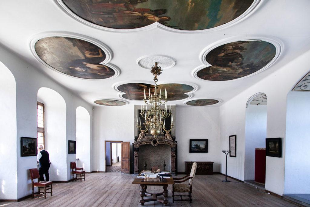 Kronborg Slot - Dipinti sui Soffitti