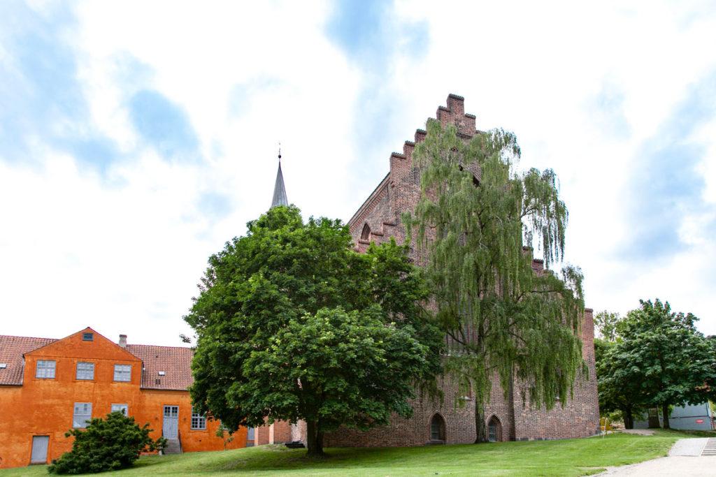 La Cattedrale di San Canuto vista dal Parco di Andersen
