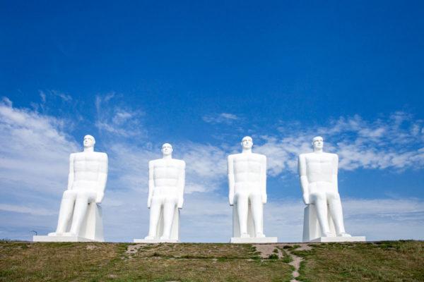 Man Meets the Sea - Statue che celebrano i 100 anni di Esbjerg