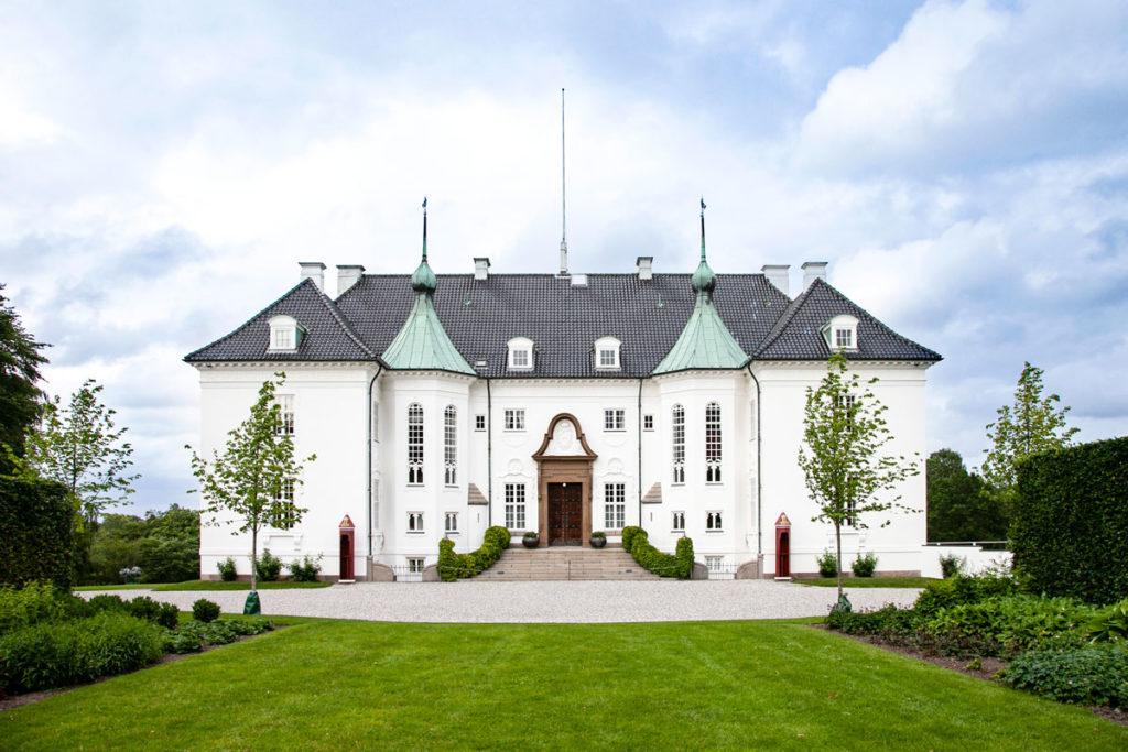 Marselisborg Slot - Palazzo reale del XIX secolo a Aarhus