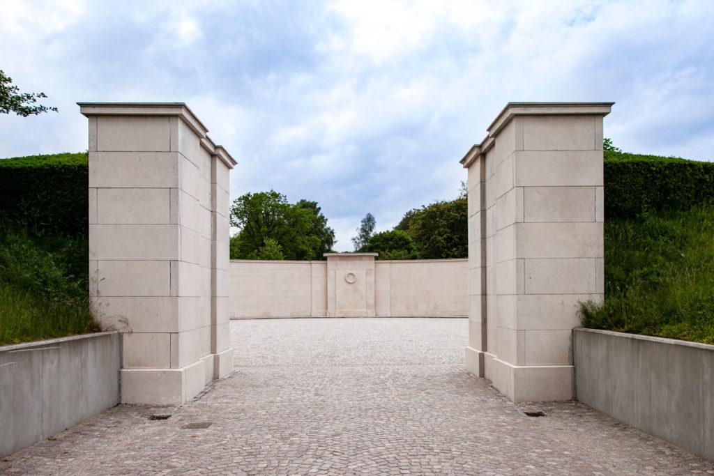 Marselisborg monumentet - Ingresso al monumento ai caduti della prima guerra mondiale