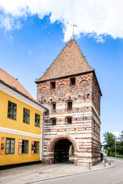 Molleporten - Porta del XV secolo nelle mura di Stege - Cosa vedere nell'isola di Mon