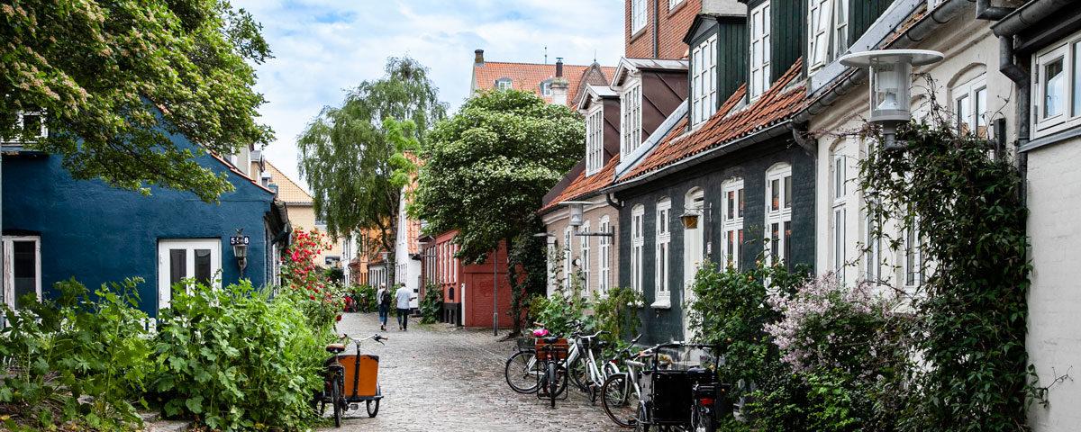 Mollestien via storica di Aarhus