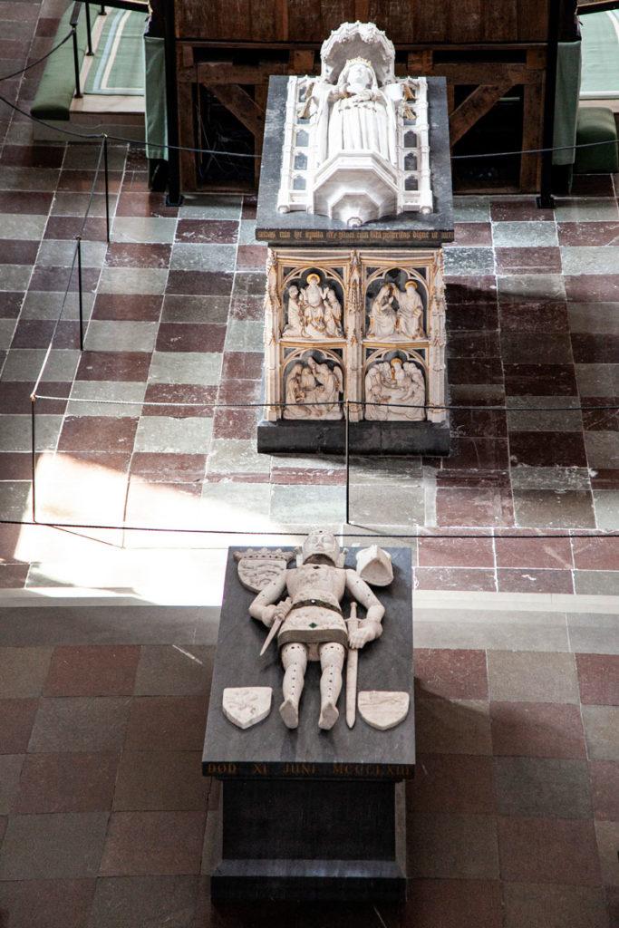 Monumento al Duca Cristoforo e Sarcofago Regina Margherita - Cattedrale di Roskilde