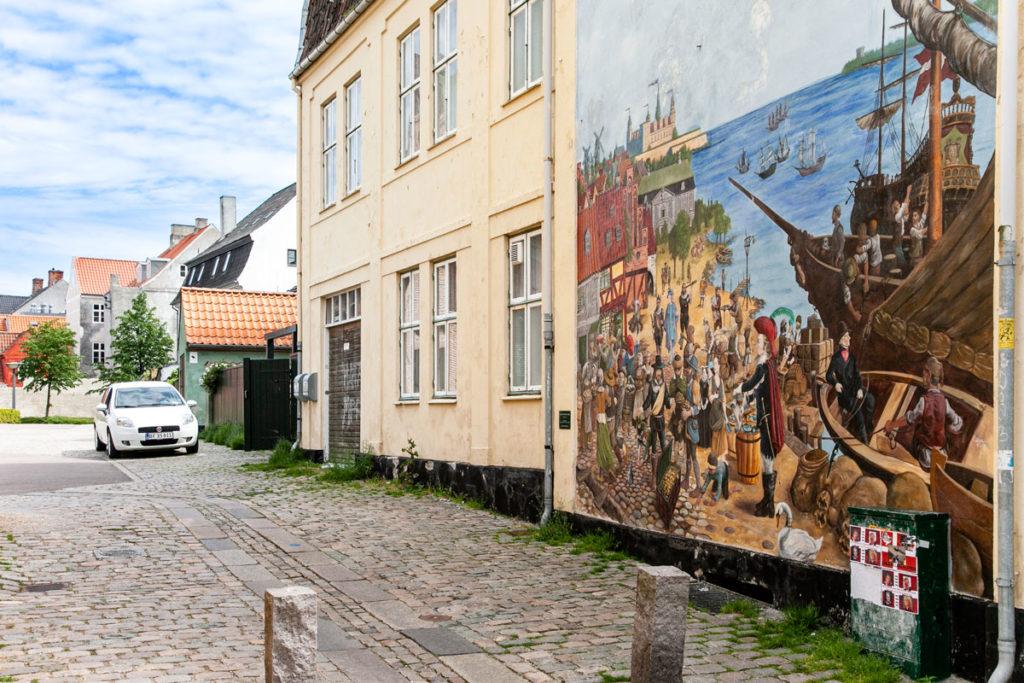 Murales citta di Helsingør