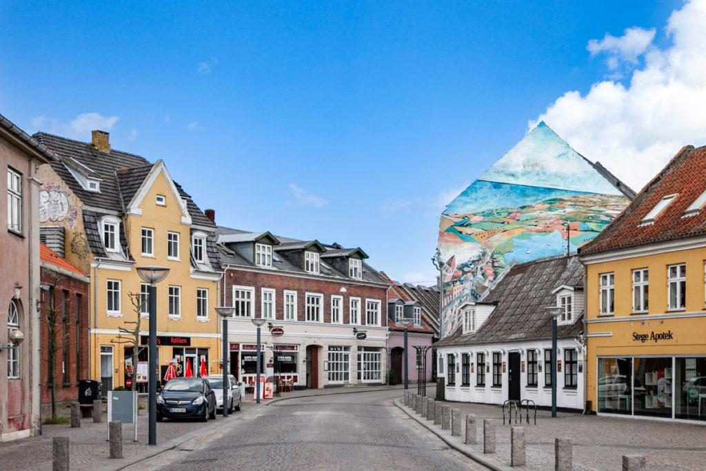 Murales sulla cittadina di Stege