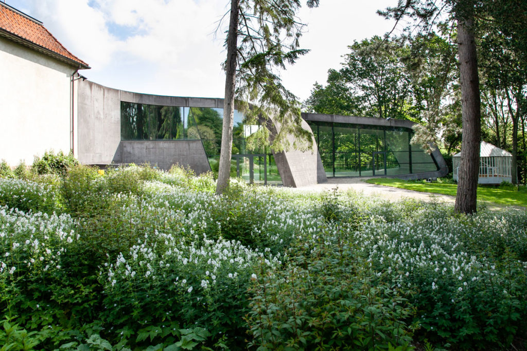 Museo Ordrupgaard - Ampliamento di Zaha Hadid