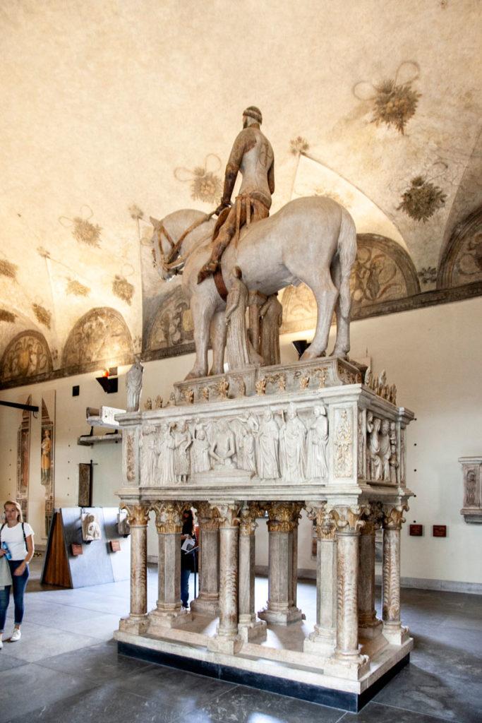 Museo di Arte Antica - Monumento Funebre di Bernabò Visconti