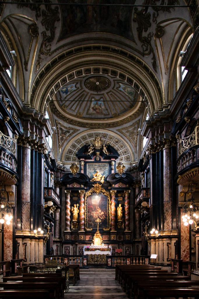 Navata Interna della Basilica del Corpus Domini