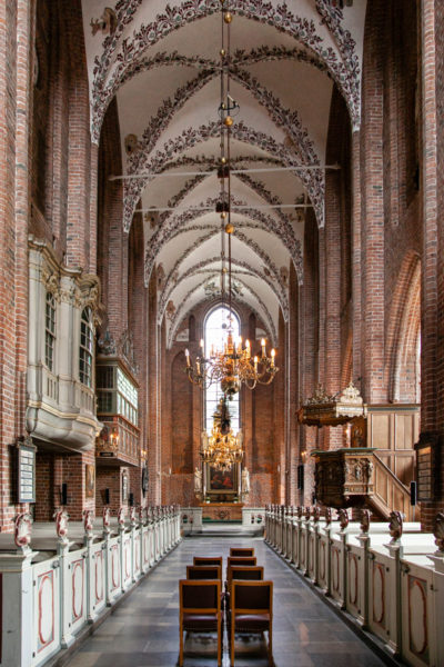 Navata Interna della Sankt Mariae Kirke