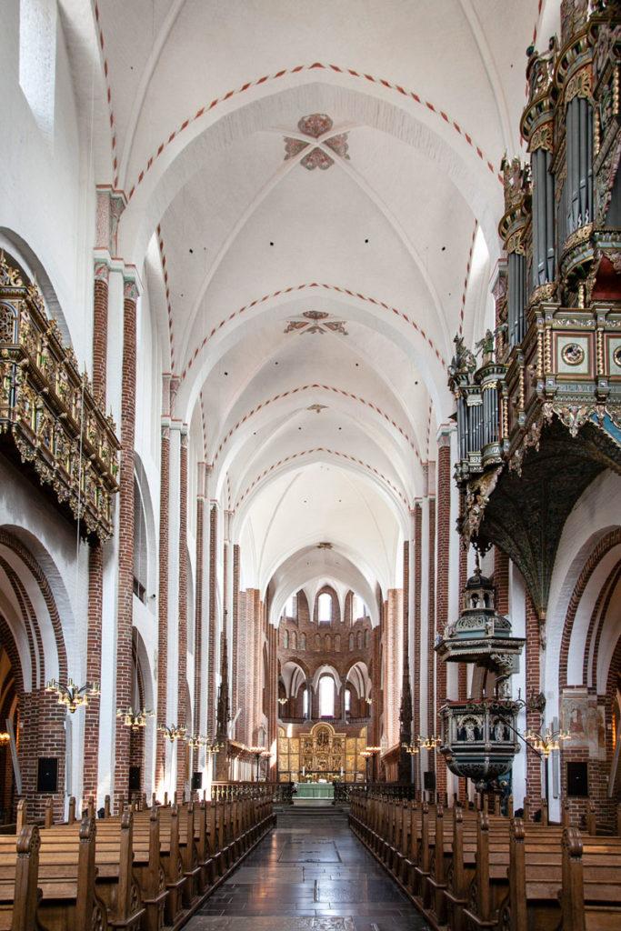 Navata Principale della Cattedrale di Roskilde