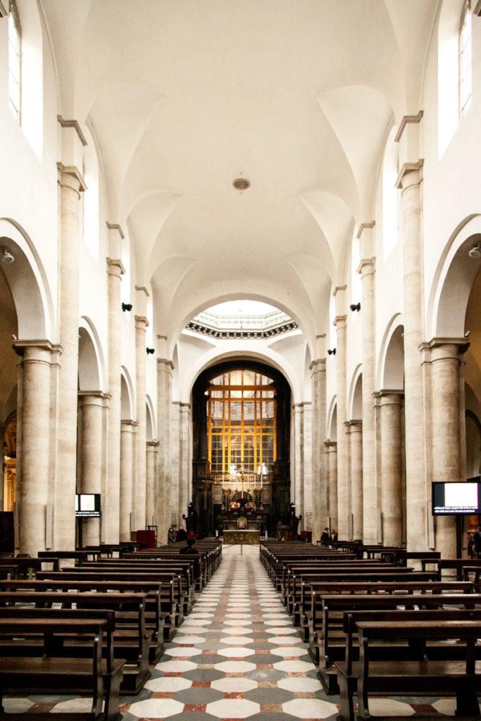 Navata Principale della Cattedrale di San Giovanni Battista - Torino