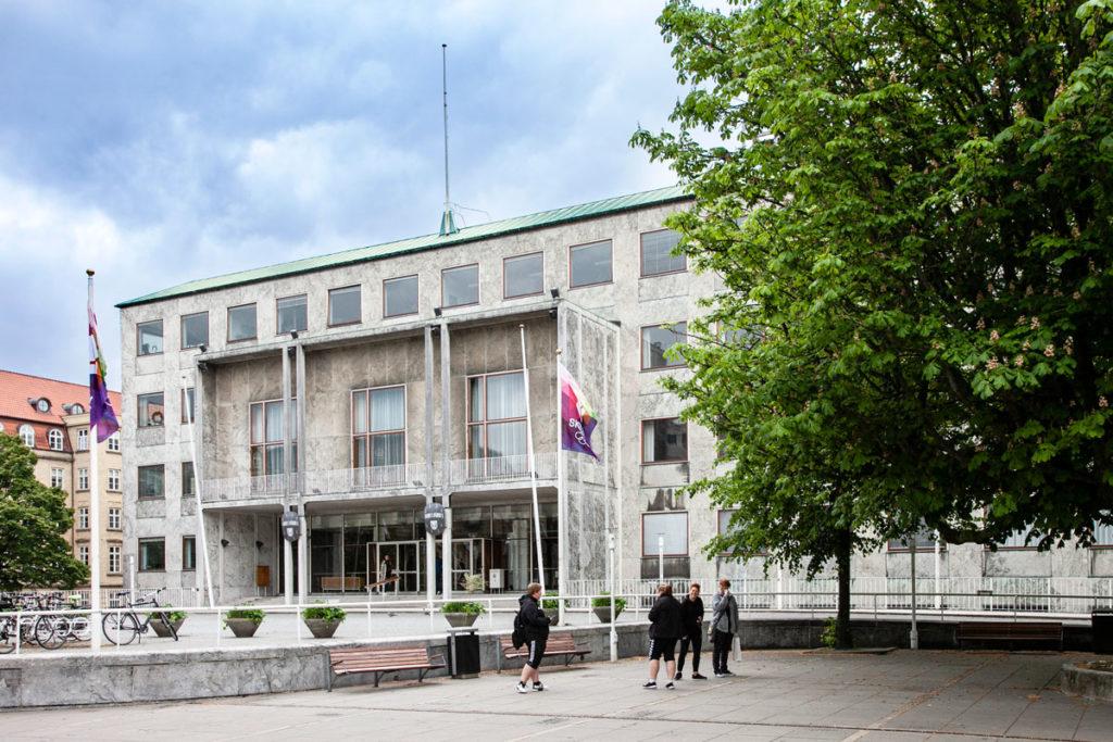 Nuovo Municipio di Aarhus - edificio di Arne Jacobsen del XIX secolo