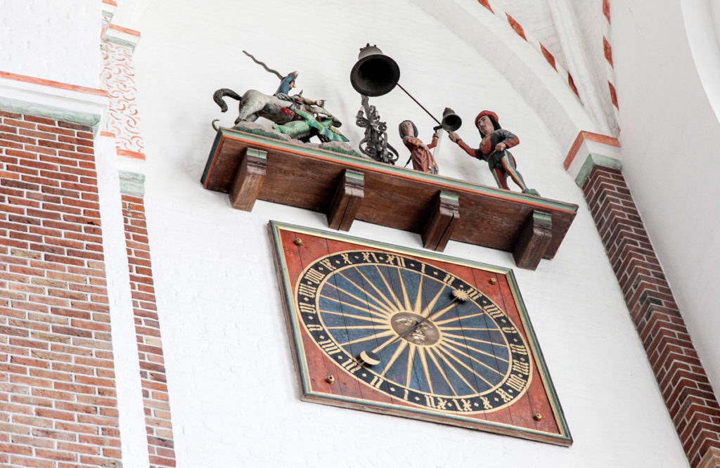 Orologio del XV secolo - San Giovanni Uccide il Drago