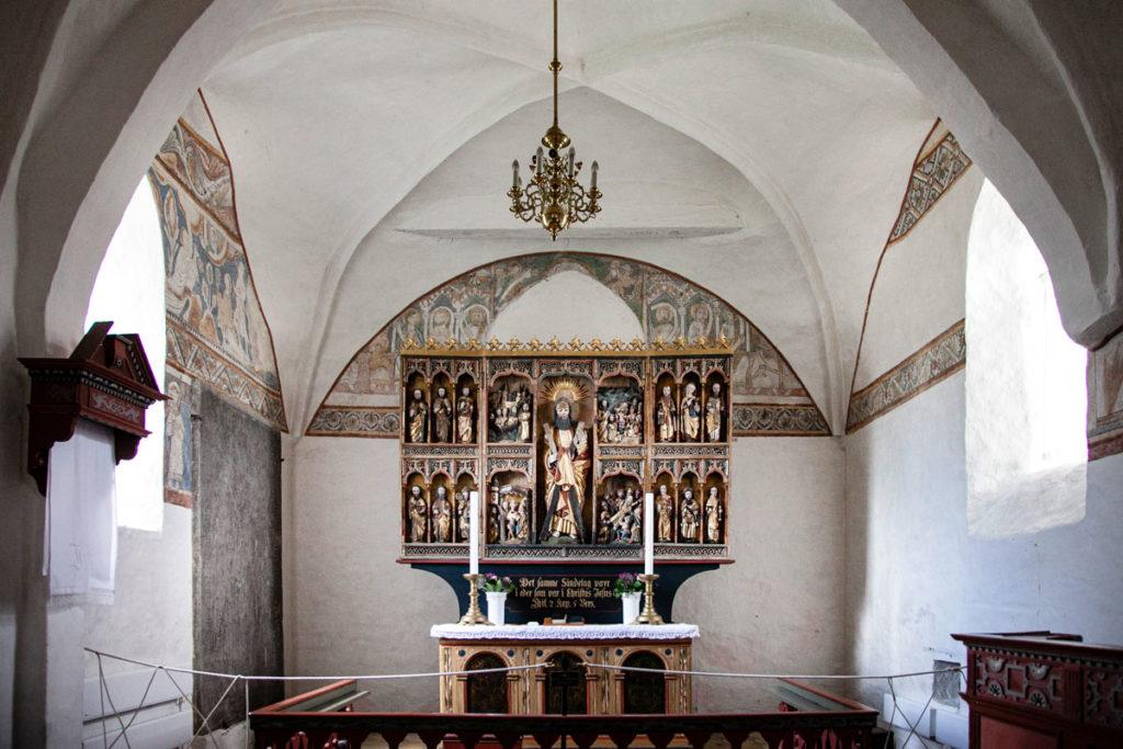 Pala d'altare della Keldby Kirke - Isola di Mon