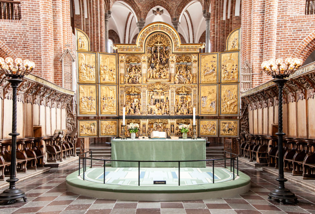Pala d'Altare a tre ali - 1560 - Cattedrale di Roskilde