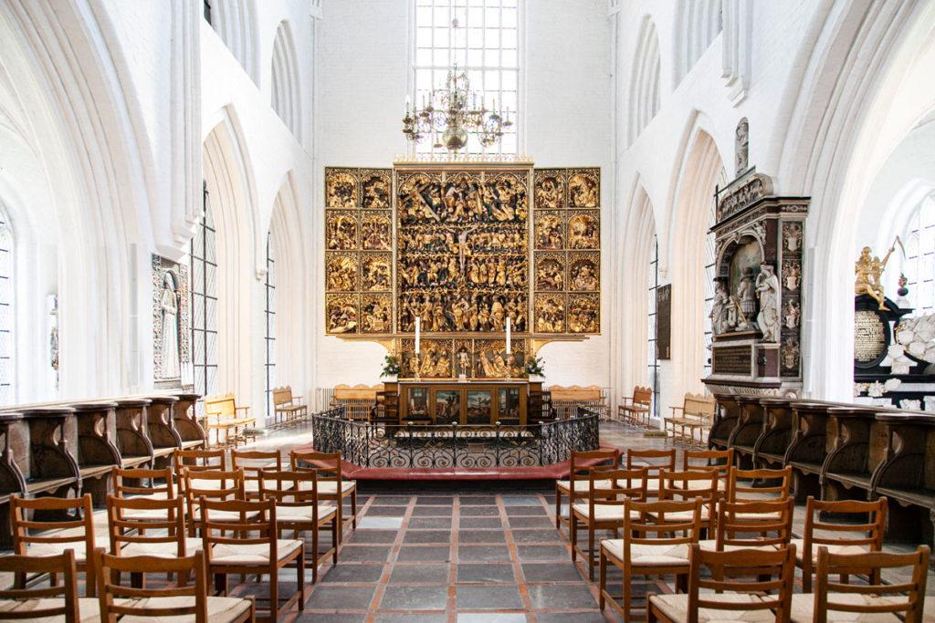 Pala d'Altare dentro alla Cattedrale di San Canuto