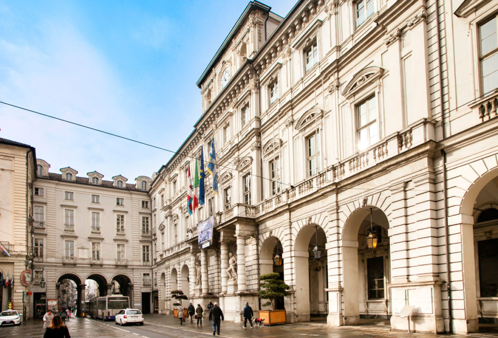 Palazzo Civico di Torino - Ingresso