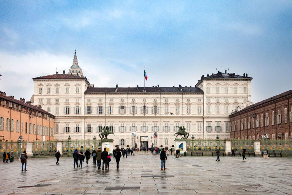 Palazzo Reale di Torino - Facciata su Piazza Castello