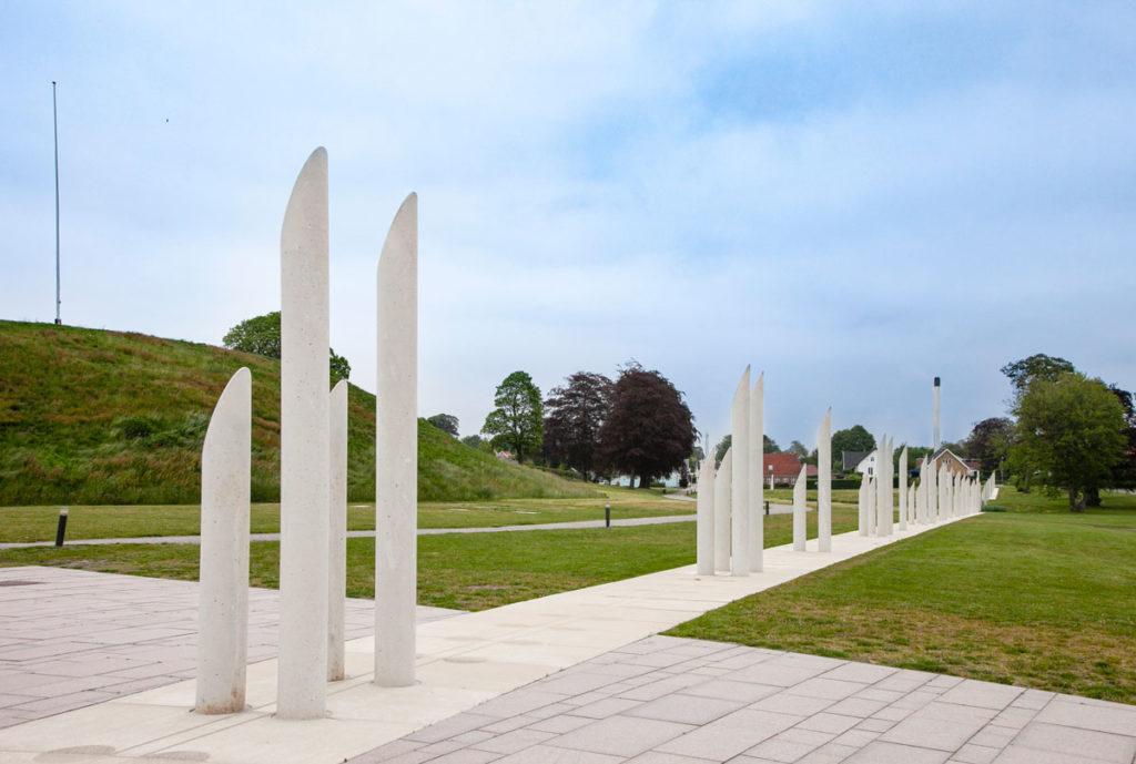 Palizzata esterna di Jelling - Sito UNESCO in Danimarca