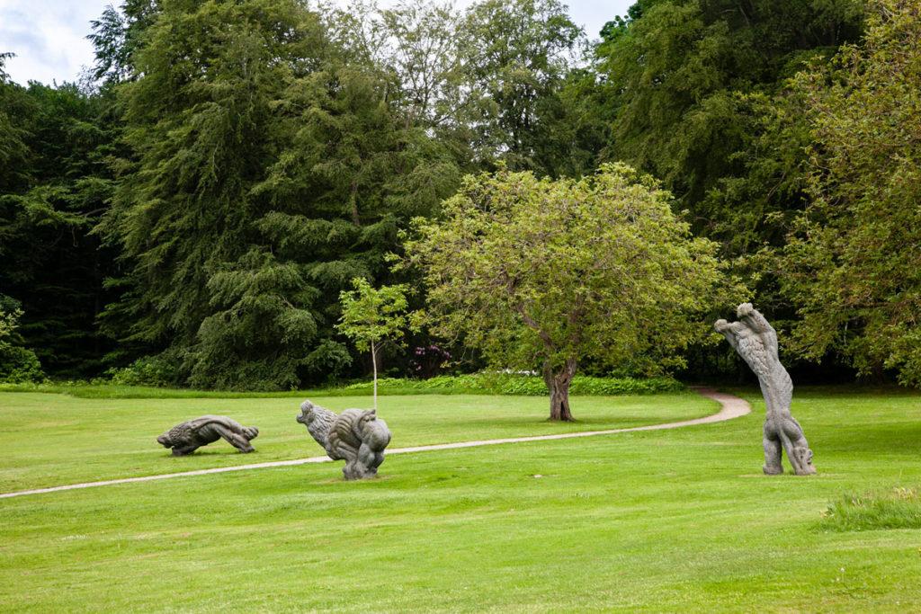 Parco con statue ed opere d'arte di Marselisborg Slot