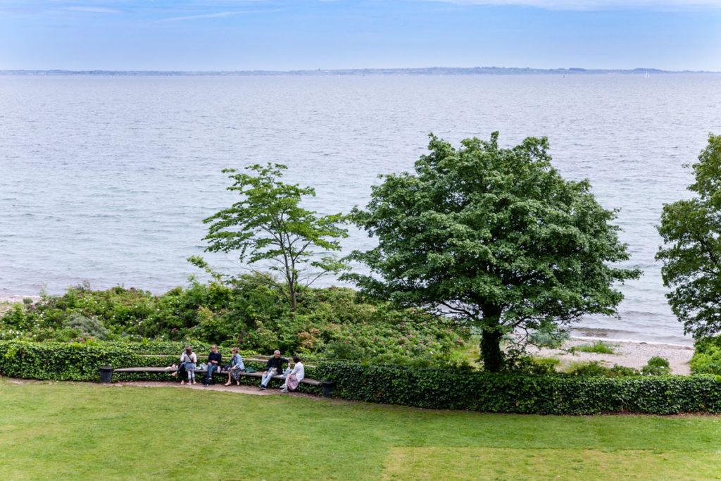 Parco del museo sul mare