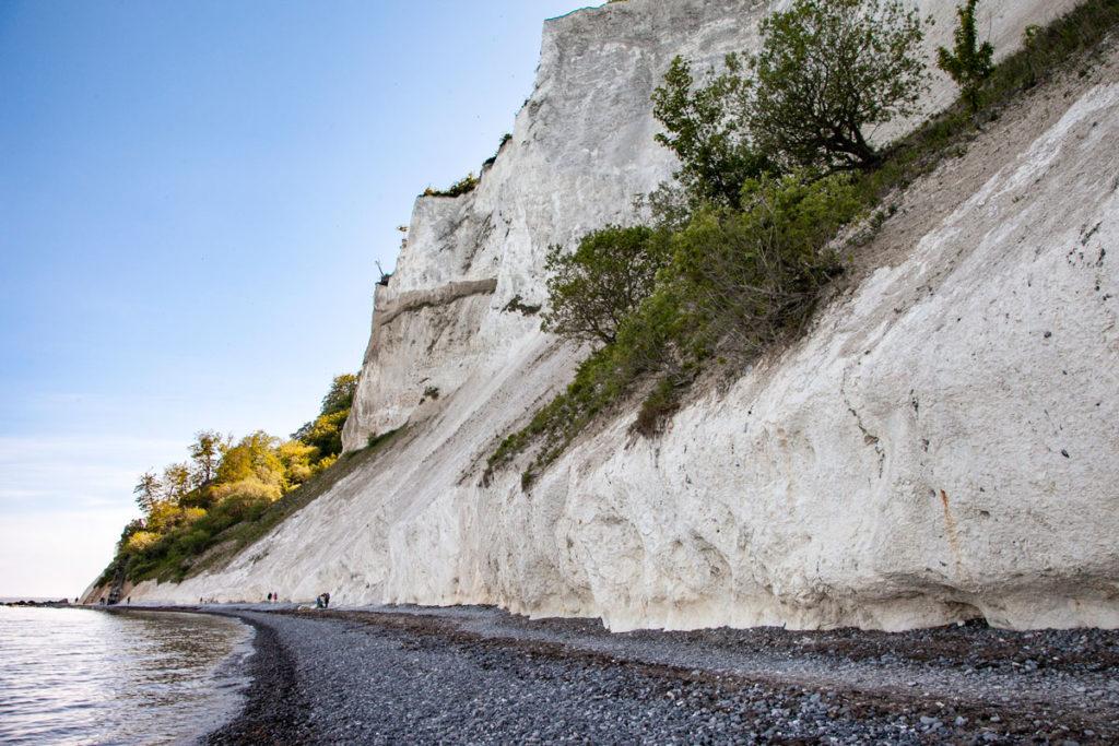 Passeggiata sotto le Mons Klint - risalenti a 5000 anni fa