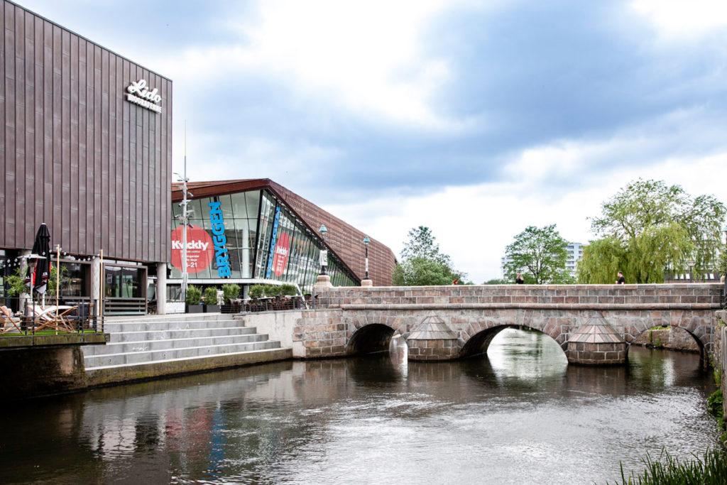 Piazza Sondertorv - Ponte Sonderbro - Centro Commerciale Bryggen di Vejle