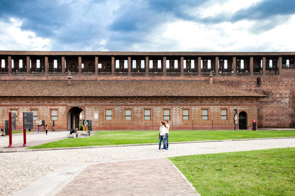 Piazza d'Armi e Ospedale Spagnolo