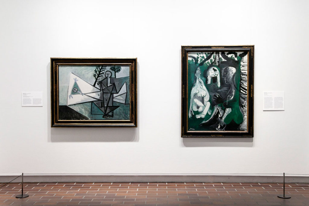 Picasso nella mostra temporanea Through Time al Museo Louisiana