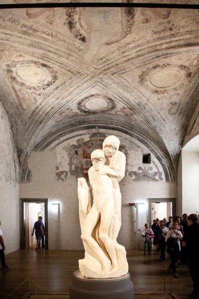 Pietà Rondanini di Michelangelo Buonarroti