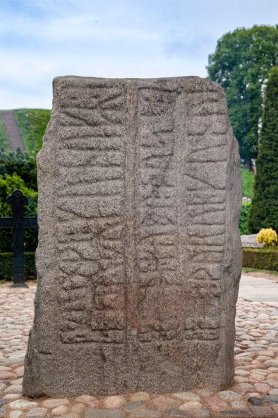 Pietra Runica di Gorm - Jelling Danimarca