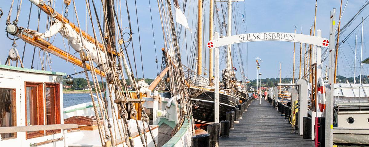 Pontile Sejlskibsbroen - Cosa vedere a Svendborg