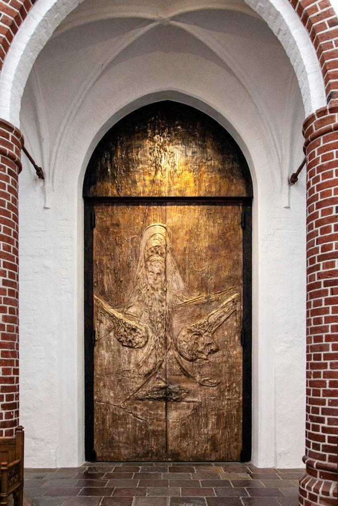 Portale del Re - Vista Interna - Cattedrale di Roskilde