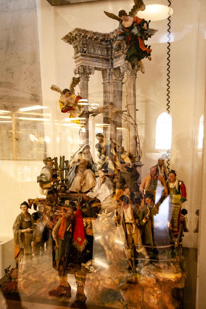 Presepe storico nel Museo delle Arti decorative del Castello Sforzesco