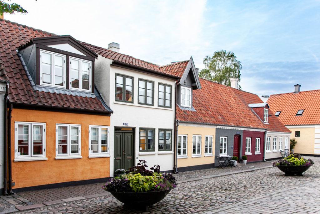 Quartiere di Andersen - Basse Case colorate