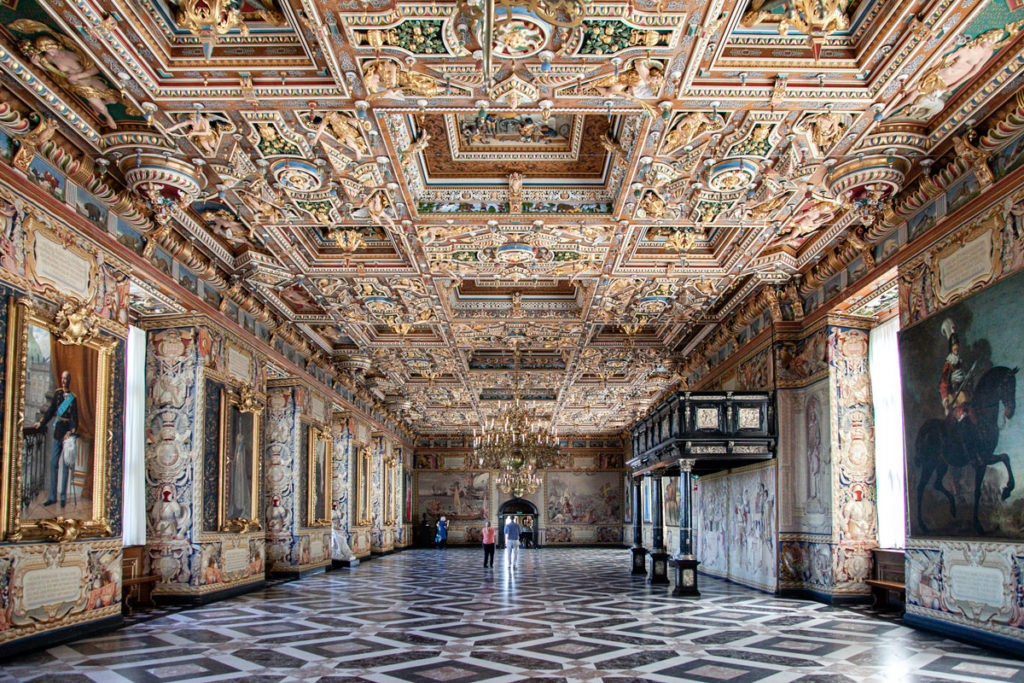 Riddersalen - Grande Sala del Frederiksborg Slot