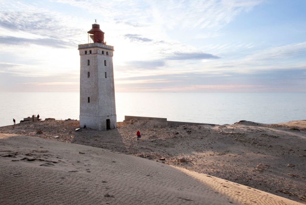 Rubjerg Knude - il faro abbandonato in pericolo della Danimarca