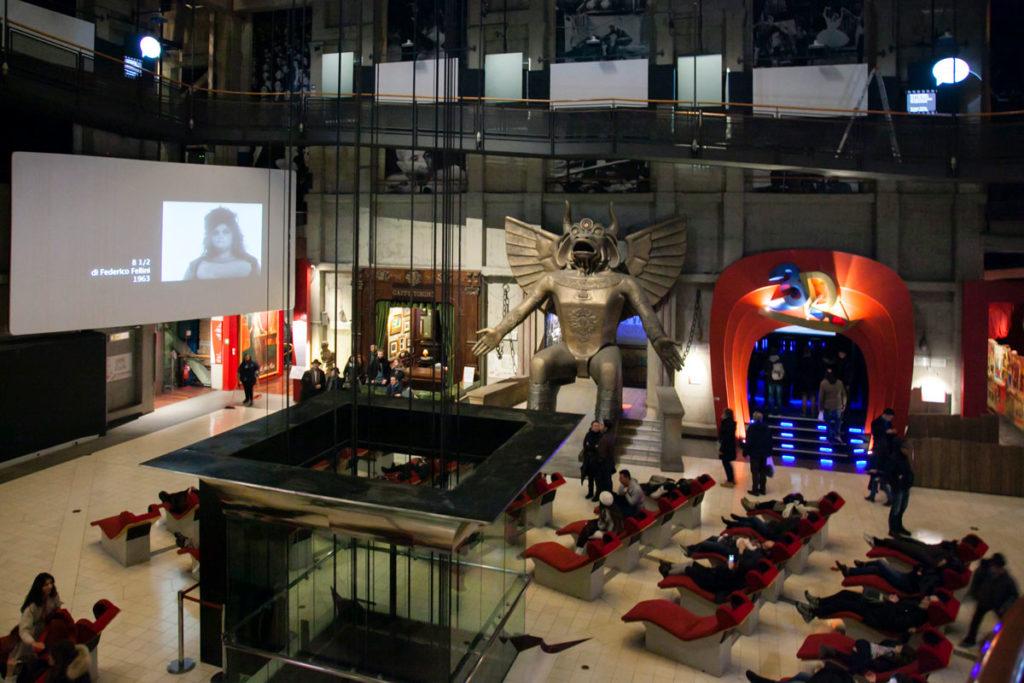 Sala Cinema nel cuore della Mole Antonelliana e ascensore panoramico