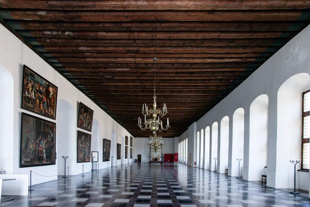 Sala da Ballo di Kronborg Slot - Castello di Amleto