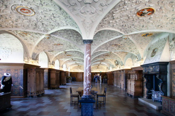 Sala della Rosa o Sala dei Cavalieri - Castello di Frederiksborg
