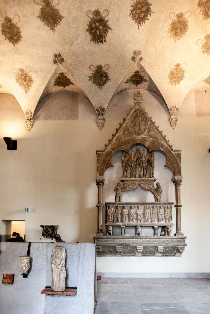 Sale della Corte Ducale - Museo di Arte Antica nel castello sforzesco