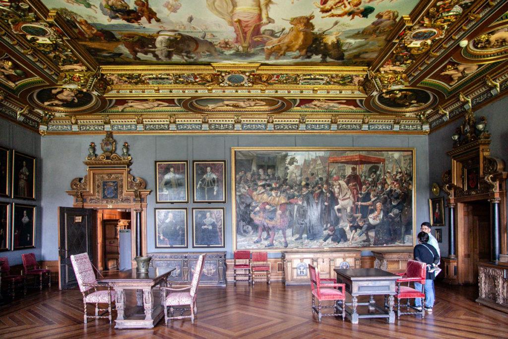 Sale storiche del museo del Frederiksborg Slot