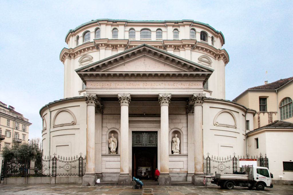 Santuario della Consolata di Torino - Facciata Principale