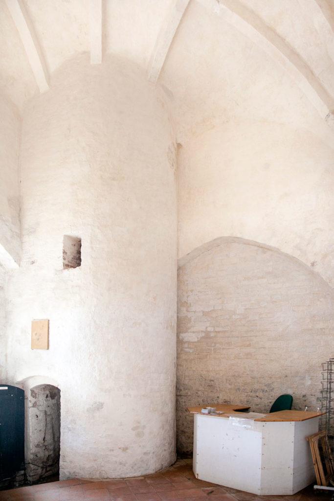 Scala a chiocciola nella Den Tilsandede Kirke