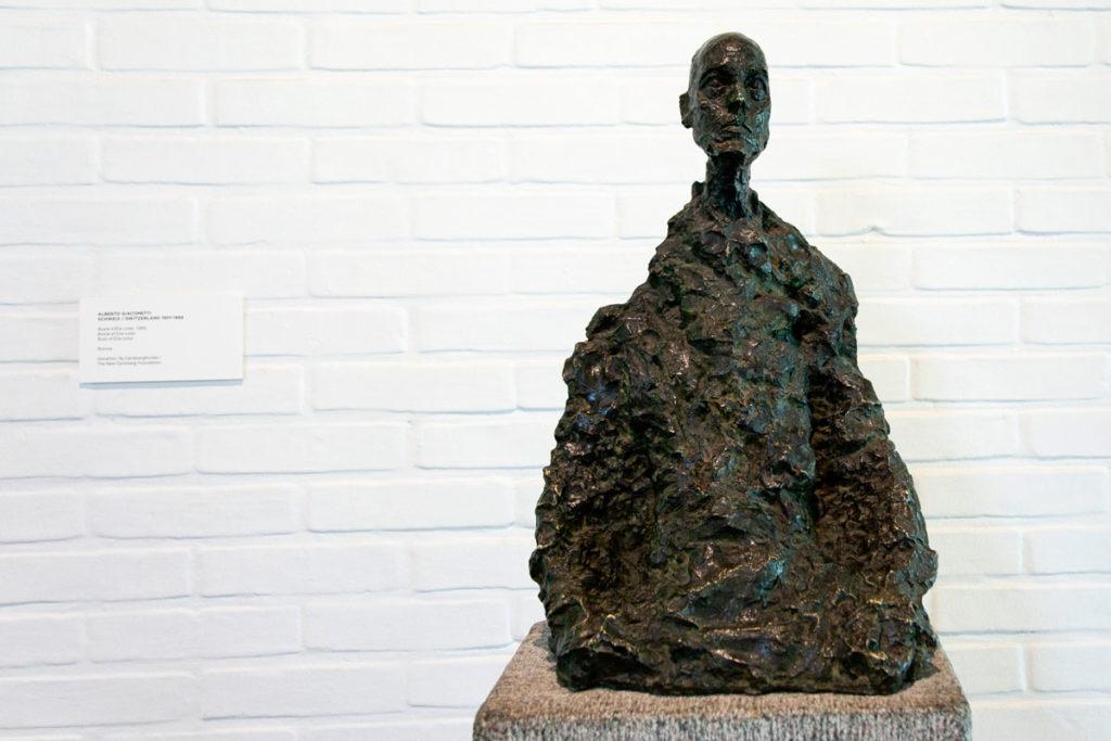 Schweiz - Alberto Giacometti nella Giacometti Gallery del Museo