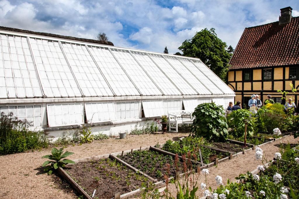 Serre e coltivazione del XIX secolo Quartiere Storico di Aarhus