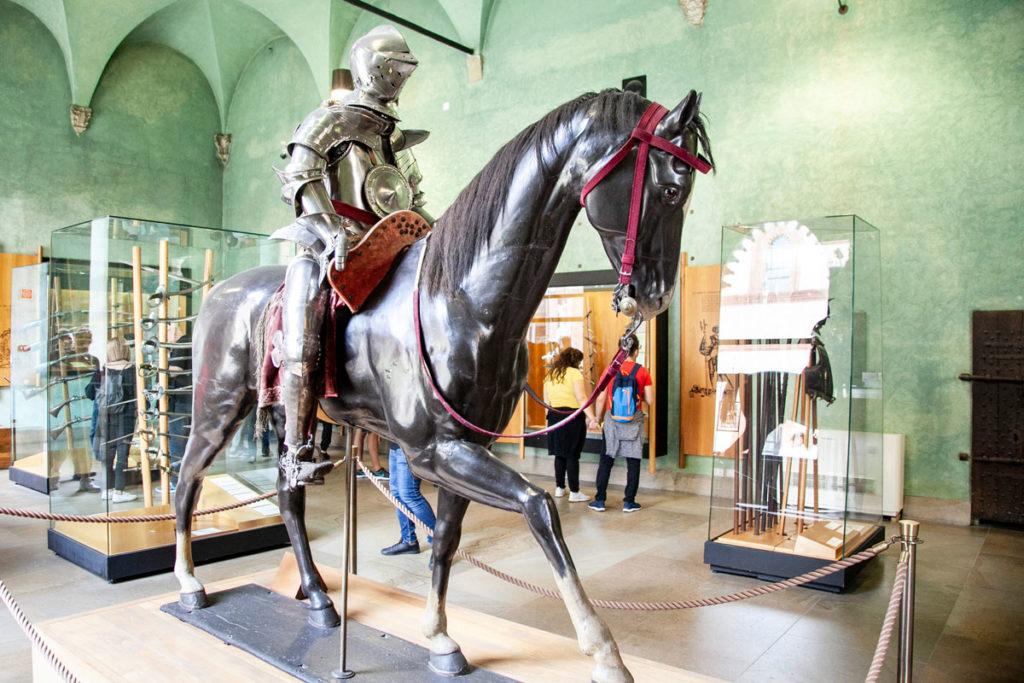 Sezione Armeria - Museo d'Arte Antica Milano