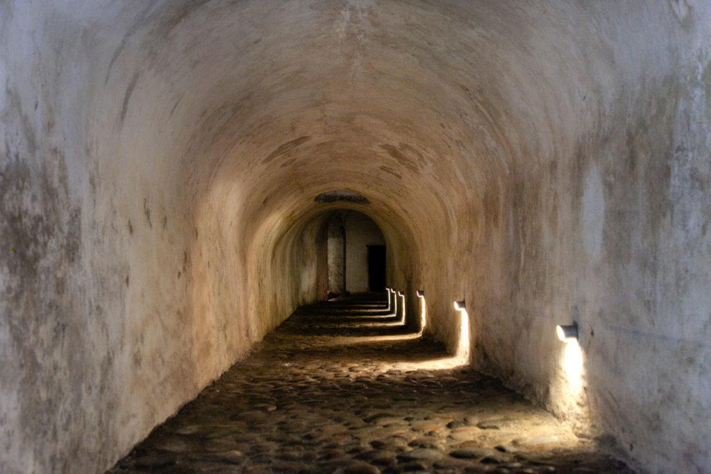 Sotterranei del castello di Amleto - casematte